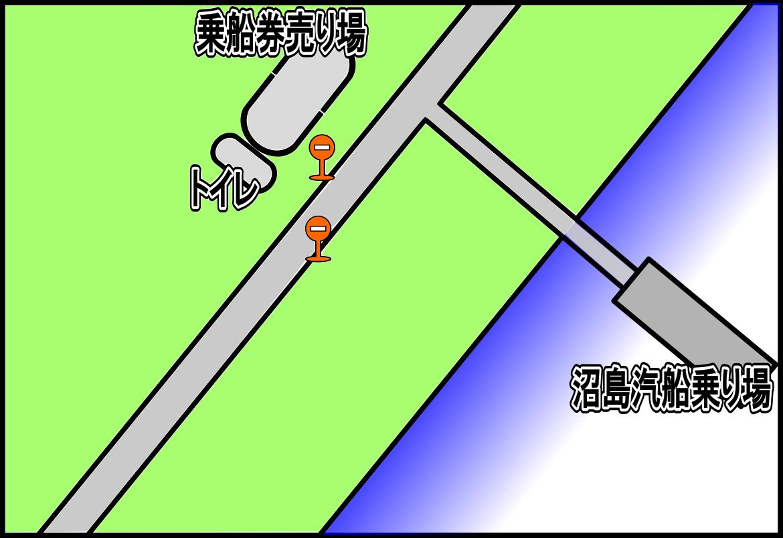 土生港地図(絵)