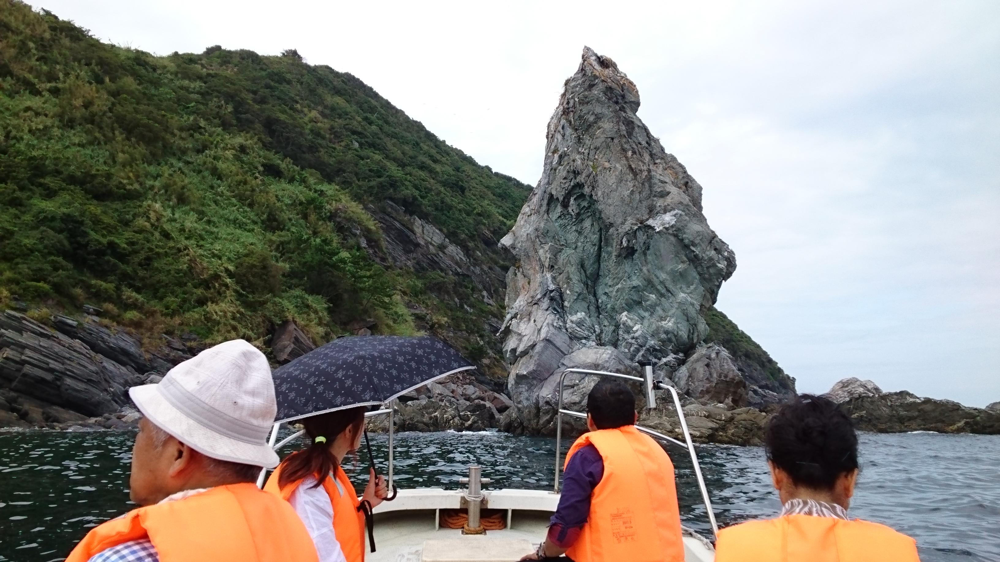 上立神岩の写真01